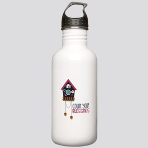 Count Your Blessincs Water Bottle