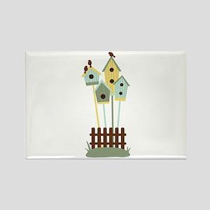Bird houses Magnets