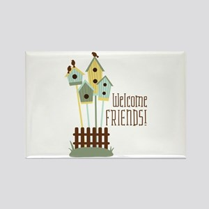 Welcome Friends Magnets