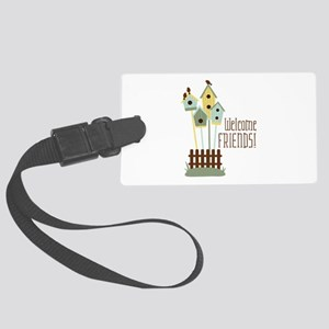 Welcome Friends Luggage Tag