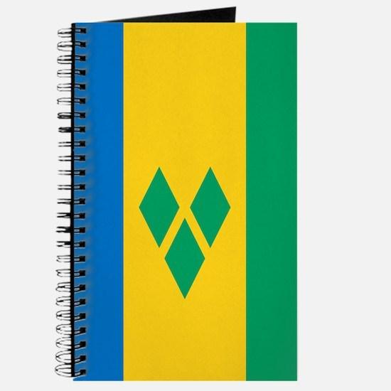 St Vincent Grenadines Flag Journal