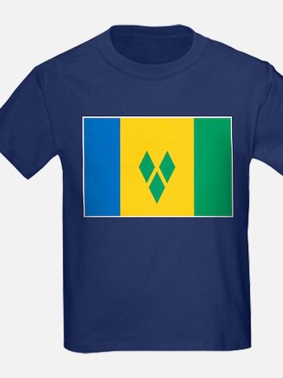 St Vincent Grenadines Flag T