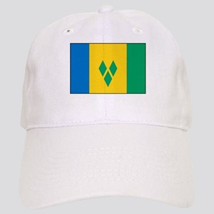 St Vincent Grenadines Flag Cap