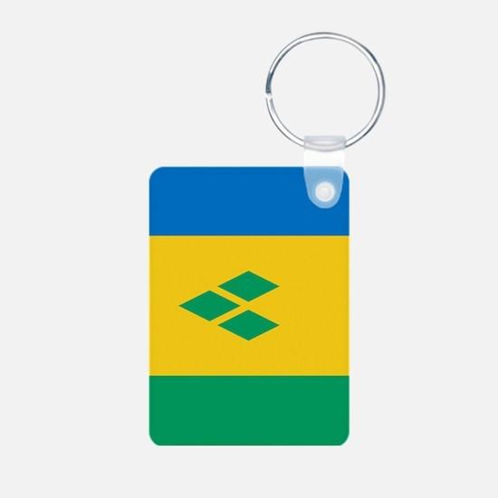 St Vincent Grenadines Flag Keychains