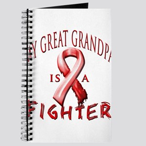My Great Grandpa Is A Fighter Red Journal