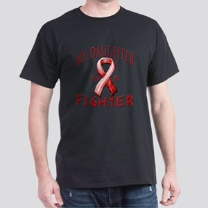 My Daughter Is A Fighter Red T-Shirt