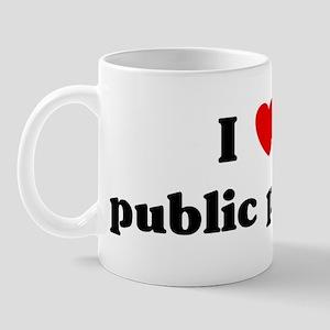 I Love public policy Mug