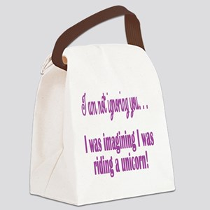 not ignoring  Canvas Lunch Bag