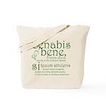 Cenabis Bene Tote Bag