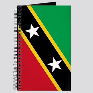St Kitts Nevis Flag Journal