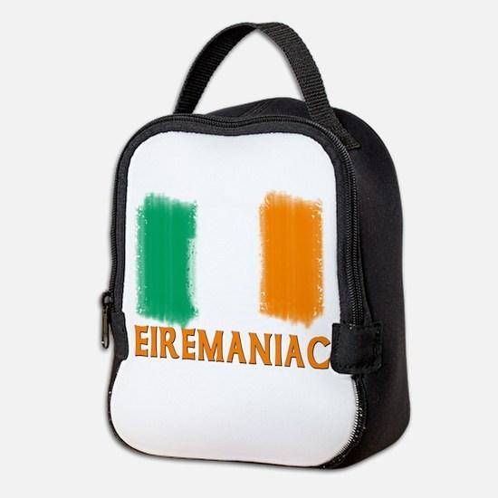 EIREMANIAC with Irish Flag Neoprene Lunch Bag