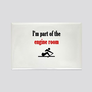 I'm part of the engine room (pic) Rectangle Magnet