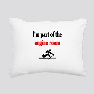 I'm part of the engine r Rectangular Canvas Pillow