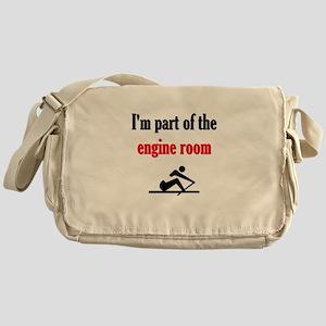 I'm part of the engine room (pic) Messenger Bag