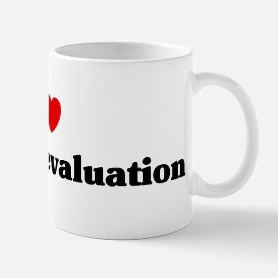 I Love program evaluation Mug