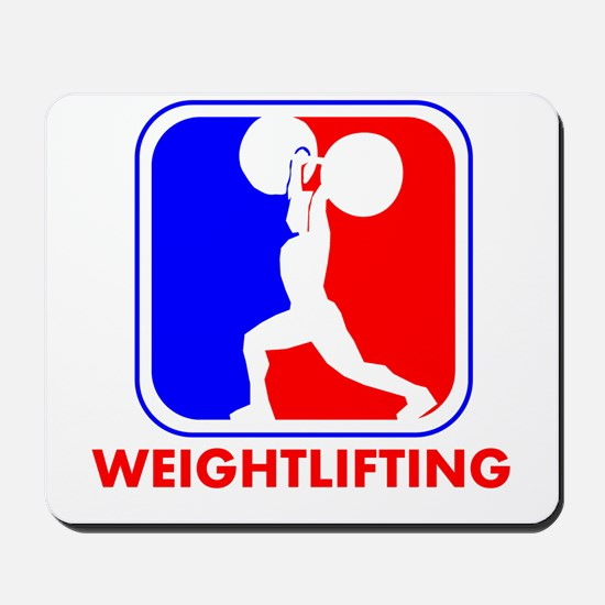 Weightlifting League Logo Mousepad