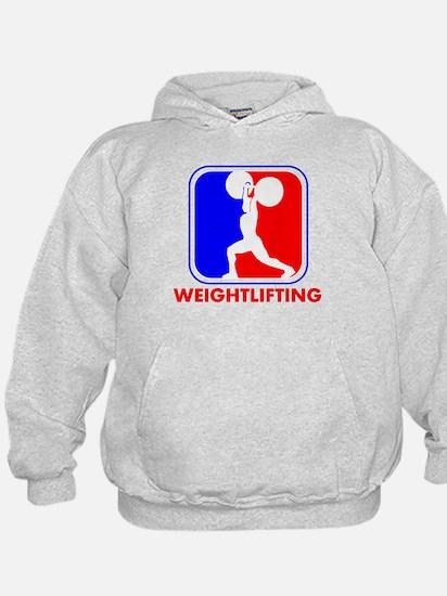 Weightlifting League Logo Hoody