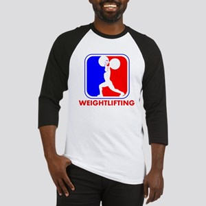 Weightlifting League Logo Baseball Jersey