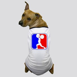 Weightlifting League Logo Dog T-Shirt