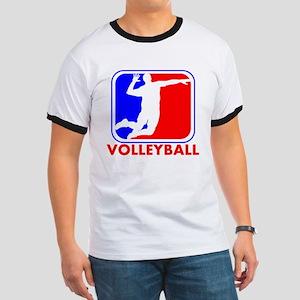 Volleyball League Logo T-Shirt