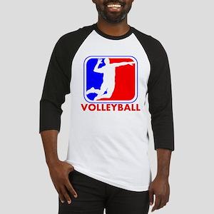 Volleyball League Logo Baseball Jersey