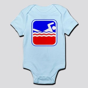 Swimming League Logo Body Suit