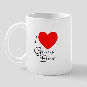 I Love George Eliot Mug