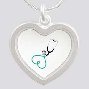 Heart Stethoscope Necklaces