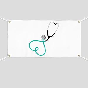 Heart Stethoscope Banner