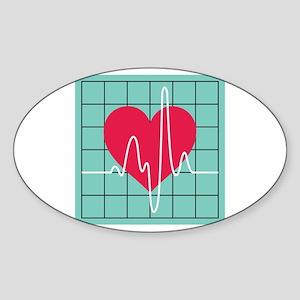 EKG Monitor Sticker