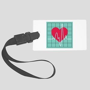 EKG Monitor Luggage Tag