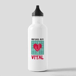 Nurses Are Vital Water Bottle