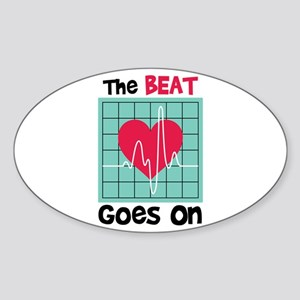 The Beat Goes On Sticker