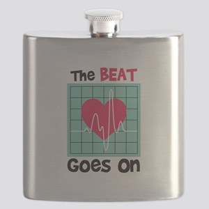 The Beat Goes On Flask