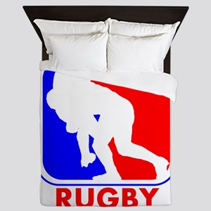 Rugby League Logo Queen Duvet
