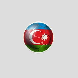 Azerbaijan Soccer Mini Button