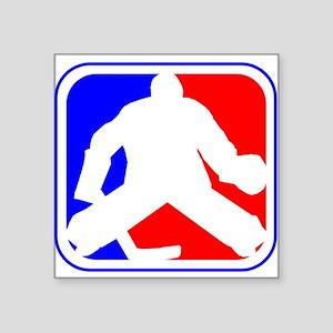 Hockey Goalie League Logo Sticker