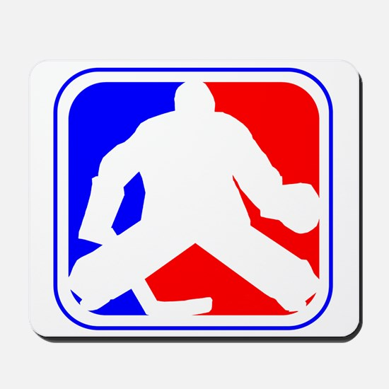 Hockey Goalie League Logo Mousepad