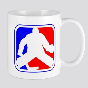 Hockey Goalie League Logo Mugs
