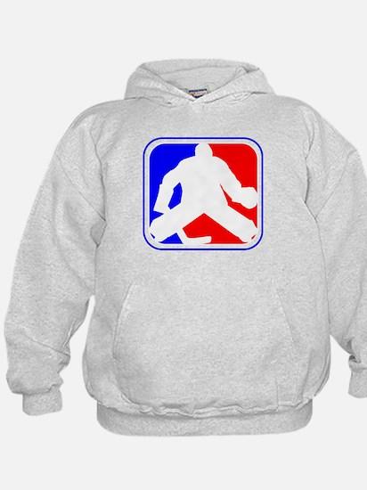 Hockey Goalie League Logo Hoody