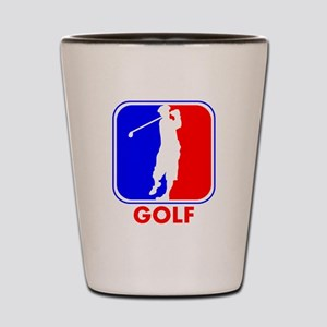Golf League Logo Shot Glass