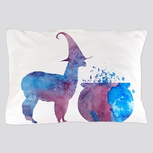 Witch llama Pillow Case