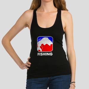 Fishing League Logo Racerback Tank Top
