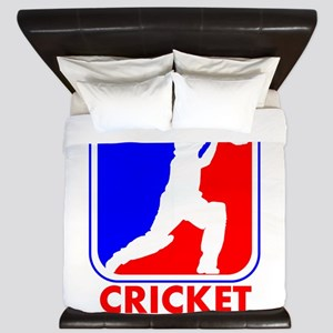 Cricket League Logo King Duvet