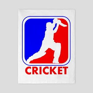 Cricket League Logo Twin Duvet