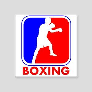 Boxing League Logo Sticker