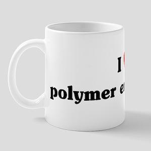 I Love polymer engineering Mug