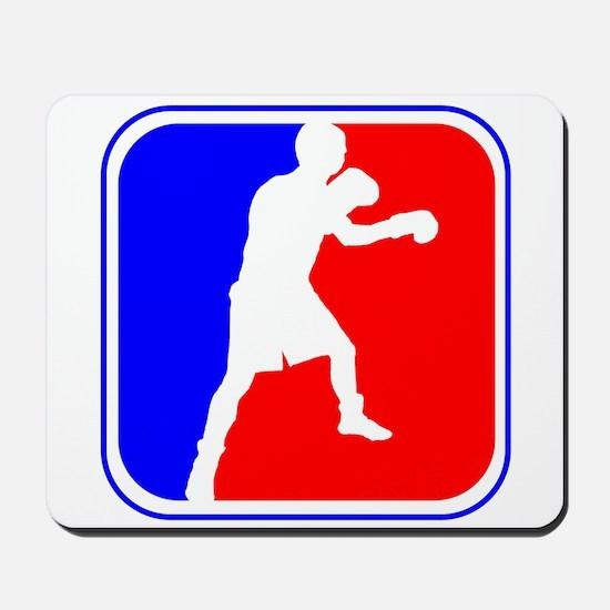 Boxing League Logo Mousepad