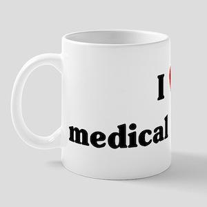 I Love medical sciences Mug