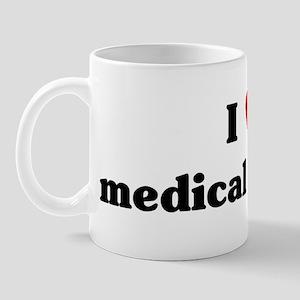 I Love medical physics Mug